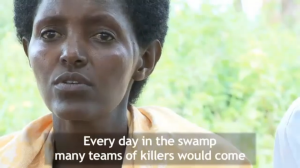 Alisa in 'A day in the marshes', Rwandan Stories