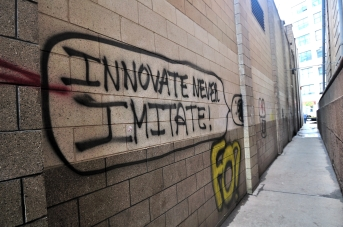 Innovate Never Imitate by dumbonyc.jpg